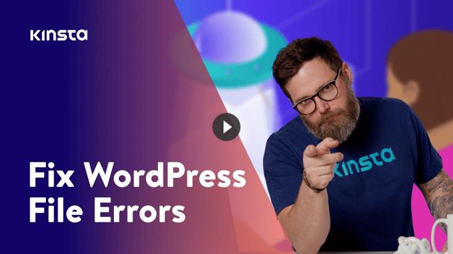 fix-wordpress-file-errors
