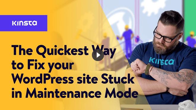 stuck-maintenance-mode